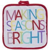 Making Seasons Bright Potholder