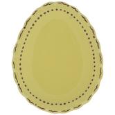 Scalloped Egg Plate