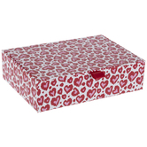Red & Pink Hearts Gift Box
