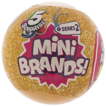 Five Surprise Toy Mini Brands