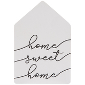 Home Sweet Home House Wood Wall Decor