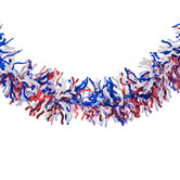 Patriotic Tinsel Garland