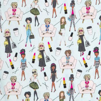 Girl Boss Apparel Fabric