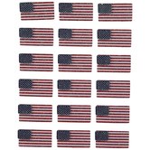 American Flag 3D Stickers