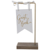 Guest Book Pennant Wood Decor