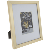 "Gold Brushed Flat Frame - 4"" x 6"""