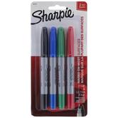 Assorted Twin Tip Sharpie Markers - 4 Piece Set