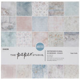 """Distressed Floral Paper Pack - 6"""" x 6"""""""