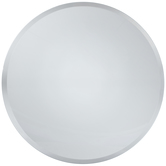 Round Decorative Mirror Plate - 10""