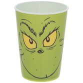 Grinch Face Cup