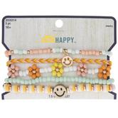 Peach & Mint Smile Bracelets