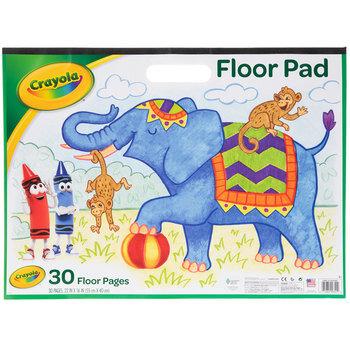 Crayola Giant Floor Pad