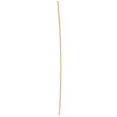 18K Plated Gold Headpins - 2""