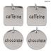 Chocolate & Caffeine Chemistry Charms