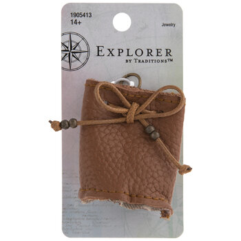 Mini Leather Bag Pendant