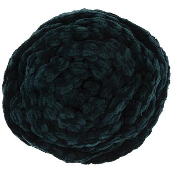 Teal Yarn Bee Chunky Knit Velvet Yarn