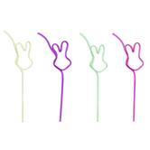 Easter Bunny Crazy Straws