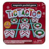 Festive Magnetic Tic Tac Toe