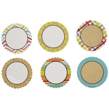 Round Framed Mini Cutouts