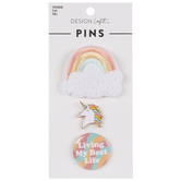 Rainbows & Unicorn Pins