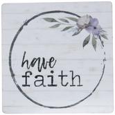 Have Faith Wood Magnet