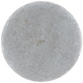 White Mosaic Glass Decorative Sphere