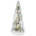 Light Up Glass Christmas Tree