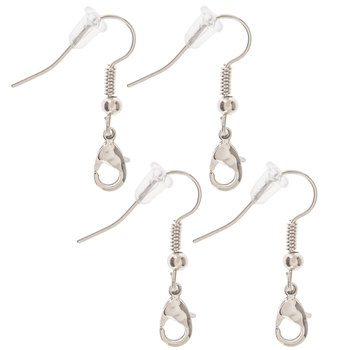 Ear Wires With Lobster Clasps