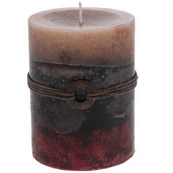 Cranberry Chutney Layered Pillar Candle