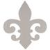 Fleur-De-Lis Chipboard Shape - 12