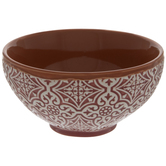 Ornate Embossed Bowl