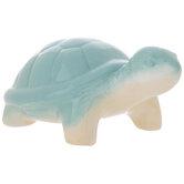 Turquoise & Cream Turtle