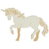 Unicorn Wood Shape