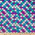 Mermaid Tail Velvet Fleece Fabric