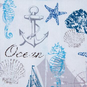 Nautical Duck Cloth Fabric