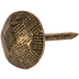 Antique Brass Hammered Decorative Tacks - 3/8