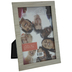 Silver Weave Texture Metal Frame - 5