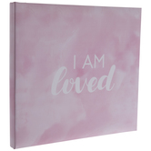 "I Am Loved Post Bound Scrapbook Album - 12"" x 12"""