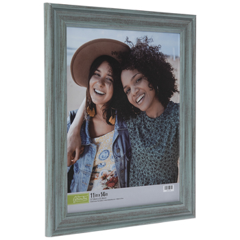 Rustic Turquoise Beveled Wall Frame