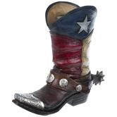 Texas Boot Vase