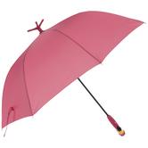 Pink Flamingo Umbrella With Stand