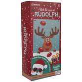 Stick The Nose On Rudolph Game