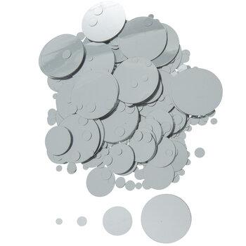 Silver Foil Confetti
