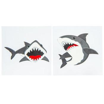 Shark Party Tattoos