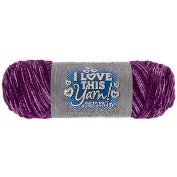 Deep Violet Stonewash Print I Love This Yarn