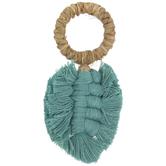 Palm Leaf Tassel Napkin Ring