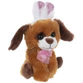 Hound Dog With Bunny Ears Plush