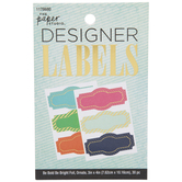 Be Bold Be Bright Ornate Foil Designer Labels
