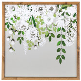 Hanging Floral Wood Wall Decor