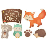 Woodland Party Cutouts
